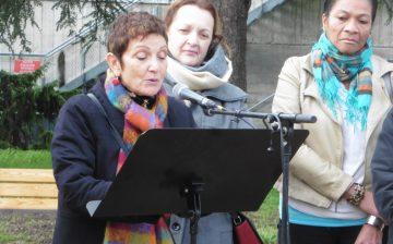 discours écologistes Réaménagement du parc Paul Allain colette reclus